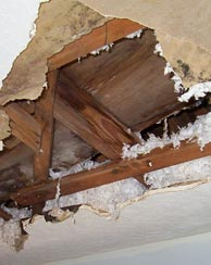 Ceiling Repairs Oulton